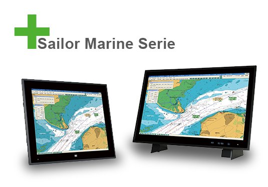 Marine certified touch monitors