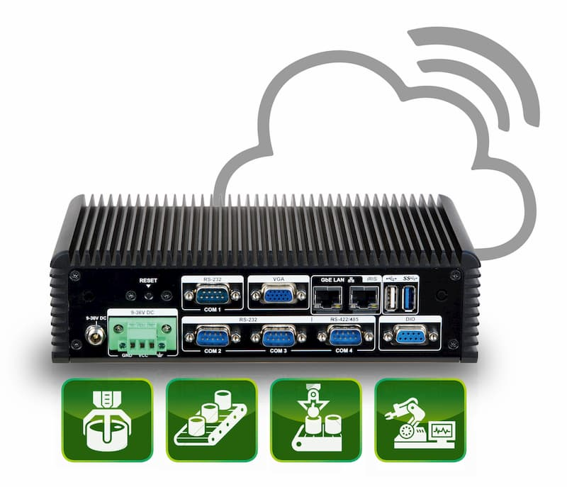 ECW-281-QGW – Cloud-based IPC für Edge Computing