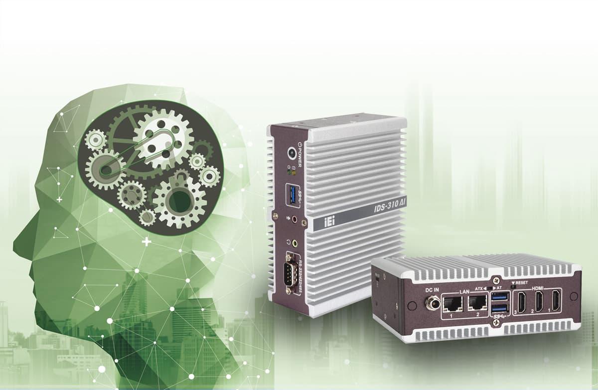 Ultra kompakter KI Digital Signage PC