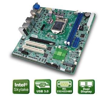 IMB-H110 – Skylake microATX CPU Board