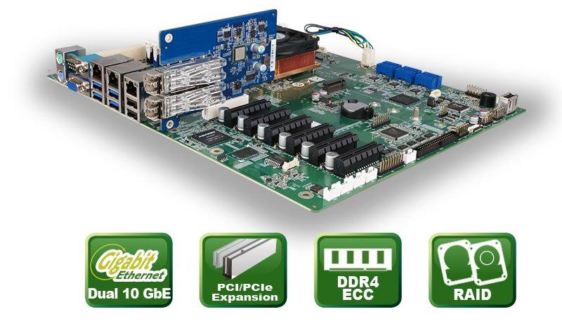 IMBA-BDE – ATX Motherboard mit Intel® Xeon D-1500