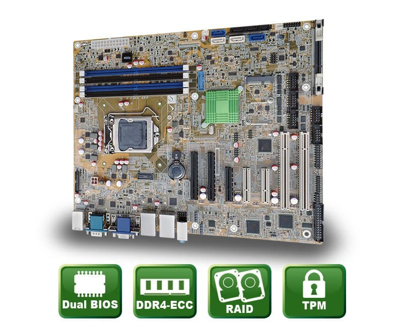 IMBA-C2360-i2 – ATX Motherboard für Server