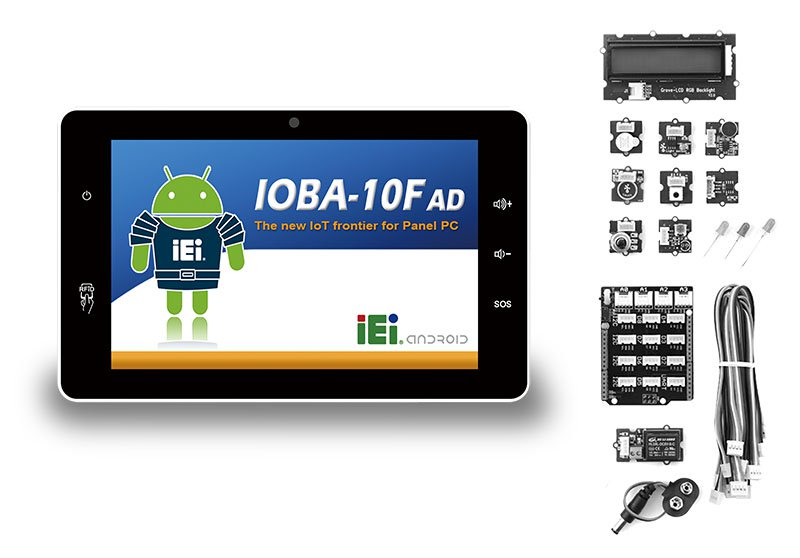 """IOBA-10F – 10.1"""" RISC Panel PC für den Wandeinbau"""