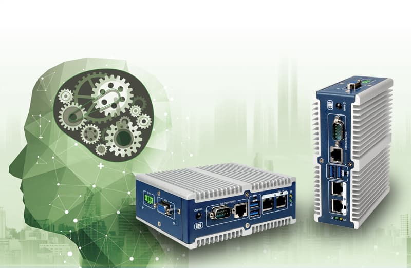 Ultra kompakter Inference Embedded PC mit Vision Processing Units