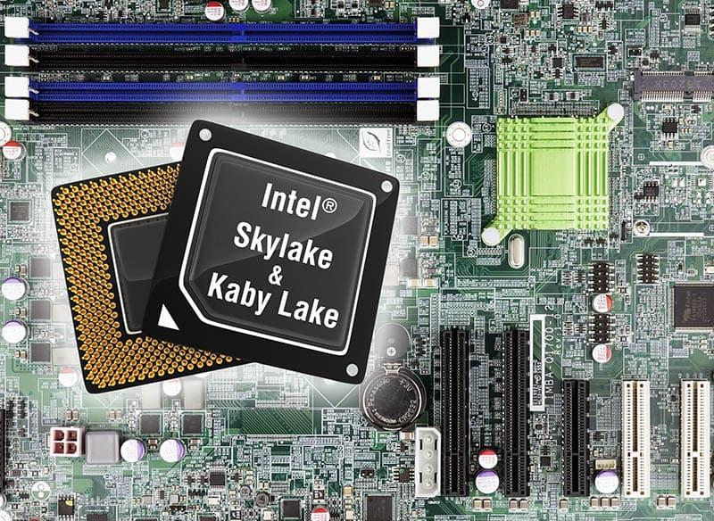 BIOS Update macht Kaby Lake Support möglich