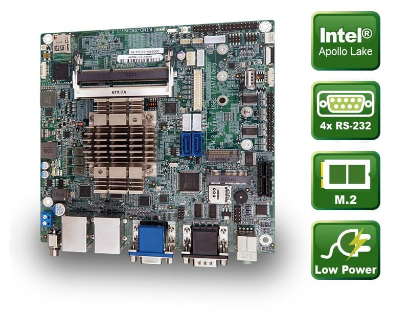 KINO-DAL – Mini-ITX CPU Board mit Apollo Lake SoC