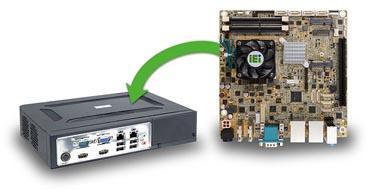 KINO-DQM170 – Mini-ITX CPU Board für POI/POS Applikationen