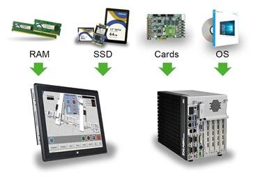 Industrie Computer mit Windows 10 IoT Enterprise
