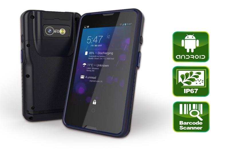 MODAT-532 – Industrial PDA mit Barcode Scanner