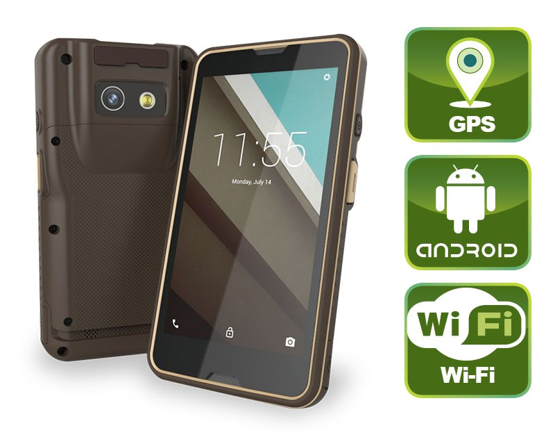 "MODAT-550 – Industrieller 5.5"" PDA mit Full HD Auflösung"