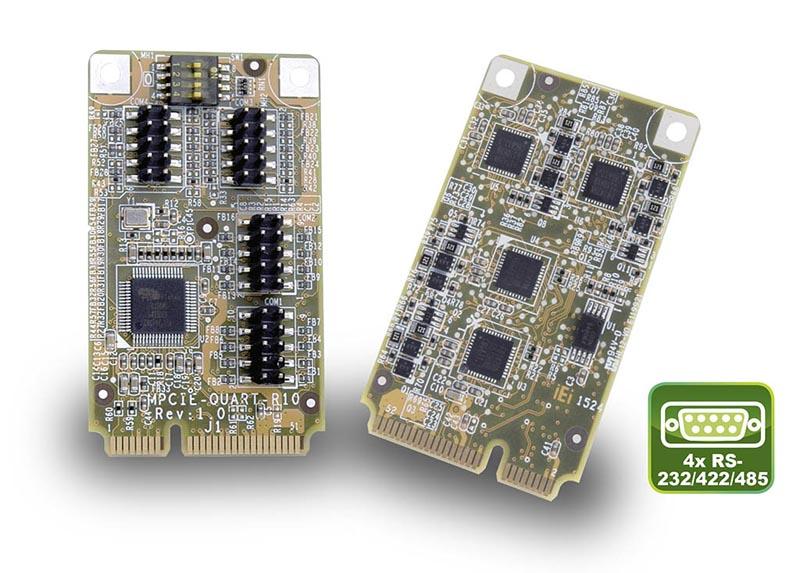 MPCIE-UART-KIT01 – Quad-Port PCIe Mini Card