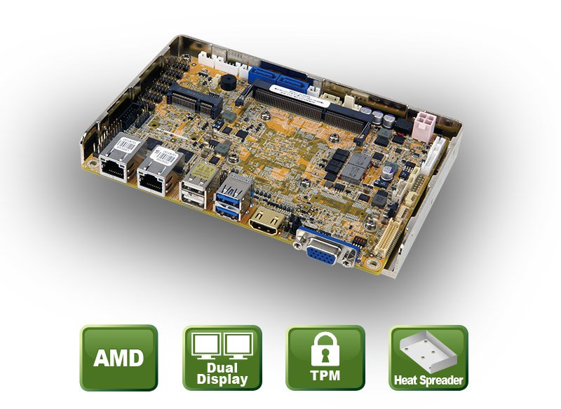 NANO-GLX – EPIC Embedded Board mit AMD® SoC