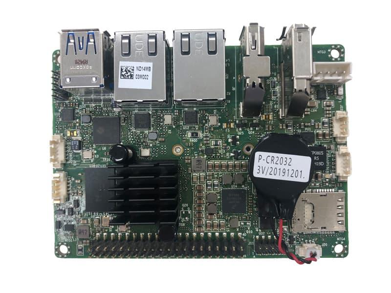 Industrielles Pico-ITX Board mit NXP Arm Cortex MX8M