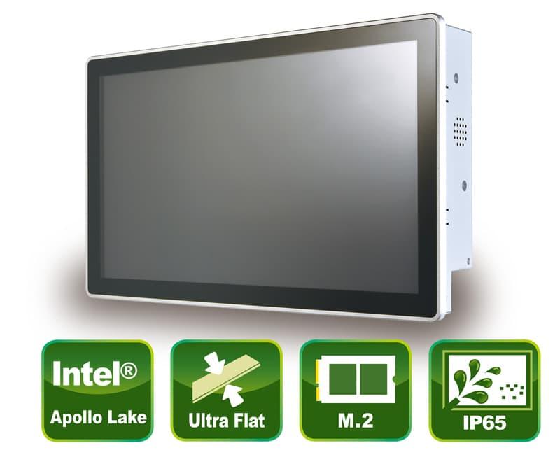 "Industrieller 15,6"" Panel PC mit True-Flat PCAP Touch Screen"
