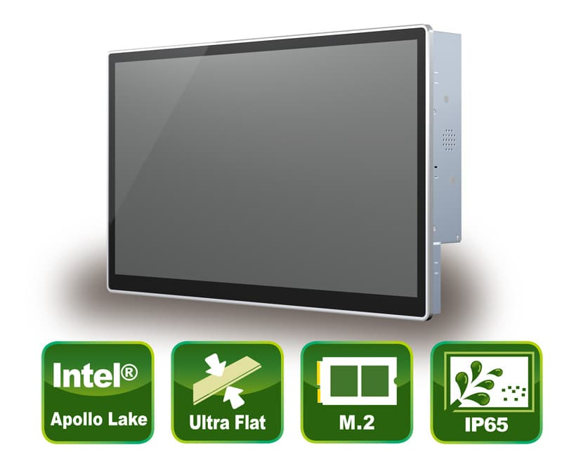 Zuverlässige Panel PC Lösung mit True Flat PCAP Touch