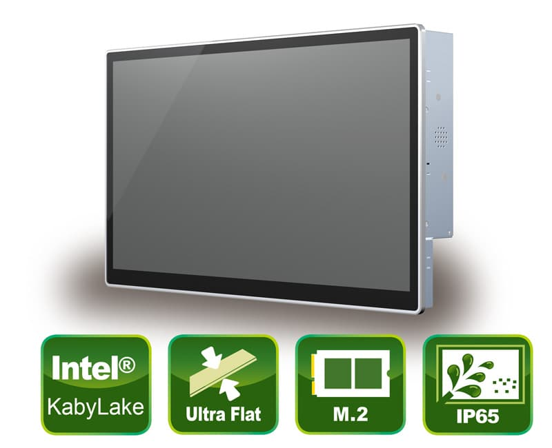"""21,5"""" Kaby Lake Panel PC mit True-Flat PCAP Touch Screen"""