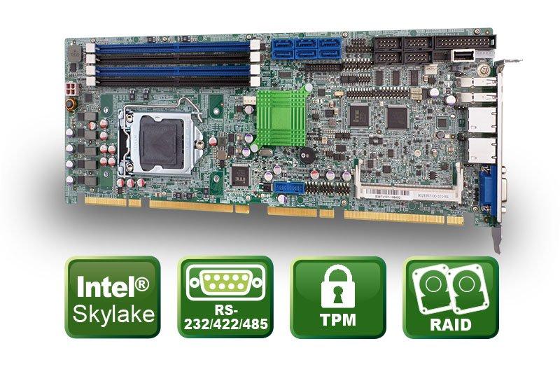PCIE-Q170 – Skylake PICMG 1.3 CPU Karte