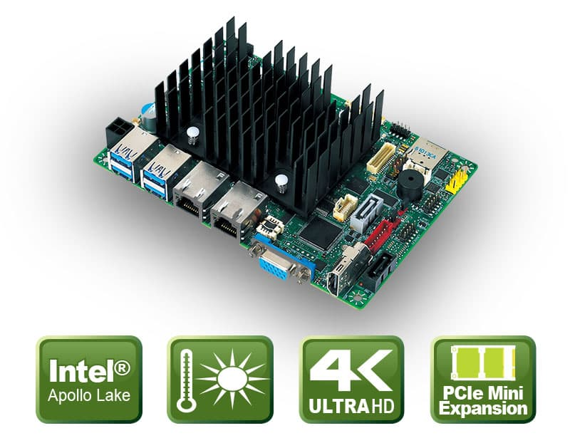 "PD10AS Serie – 3,5"" CPU Board mit Apollo Lake SoC"