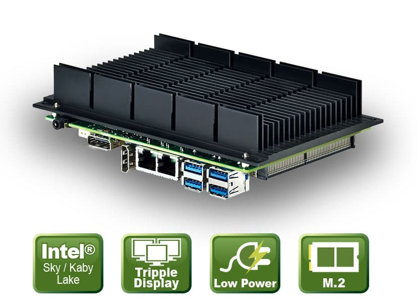 "PD11KS Serie – 3,5"" CPU Board mit Kaby Lake /Skylake SoC"