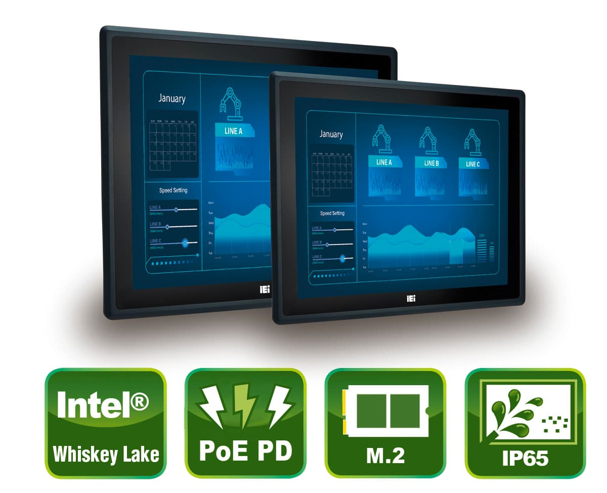 PPC-F-ULT5 - Industrielle Touch Panel PC Serie
