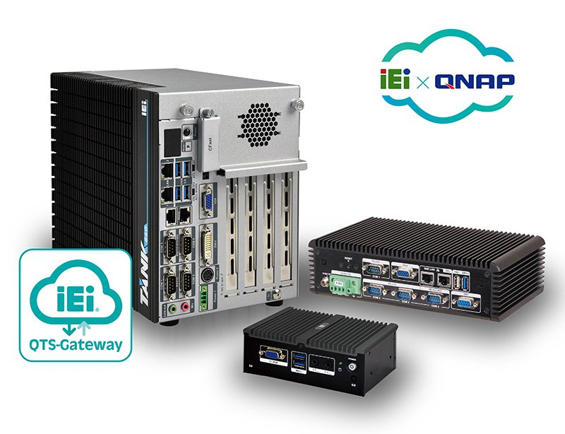 Cloud-based IPC - IEI's IPC powered by QNAP