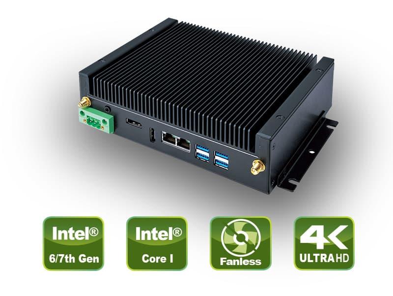 S310-11KS Serie – Fanless Embedded Box PC
