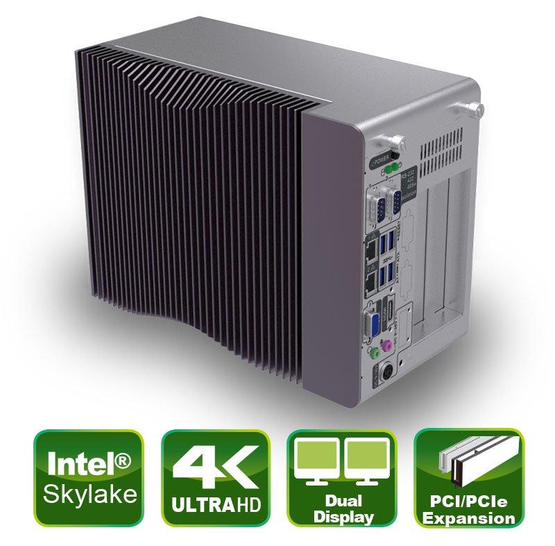TANK-870e-H110 – Embedded Box PC für die Maschinensteuerung