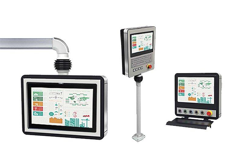 Tragarm Panel PC und Monitore der ARM Serie