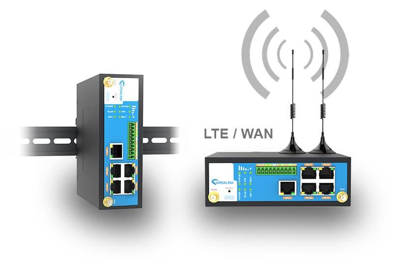 UR55 – Industrieller 4G Mobilfunkrouter