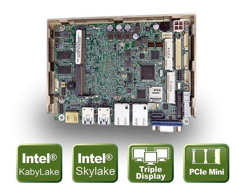 "WAFER-ULT3/ULT4 – 3.5"" CPU Board mit Intel® Skylake/Kaby Lake SoC"